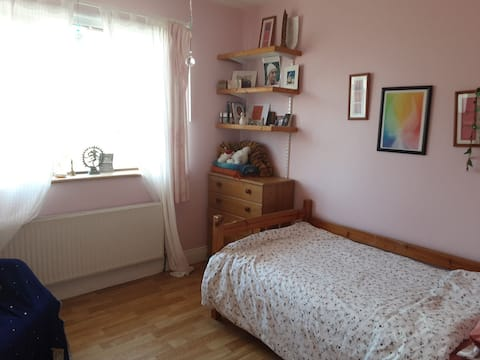 1 bedroom available in a yoga and meditation centre.