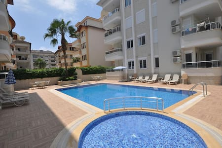 LUXURY ONE BEDROOM APARTMENT - Alanya - Lejlighed
