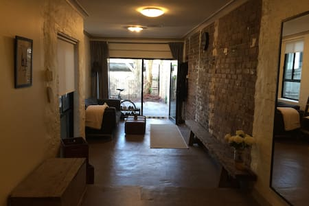Industrial chic studio apartment