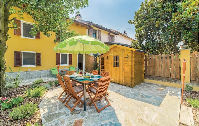 Holiday cottage with 2 bedrooms on 60m² in Bassignana