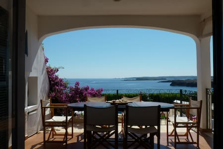 Breathtaking views from a cozy home - Arenal D'en Castell