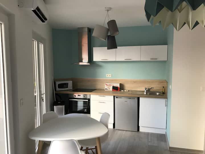 Appartement à Montelimar centre avec terrasse