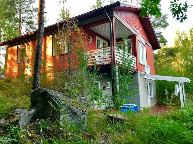 Cozy house on the shore of Saimaa