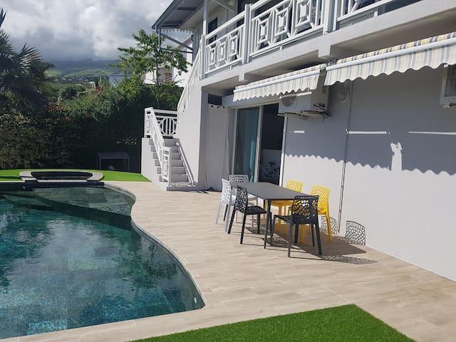 Jacuzzi, piscine, terrasse