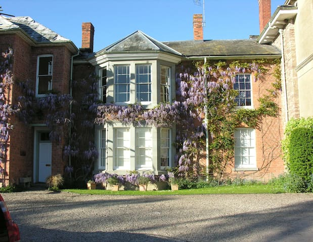 Apartment at Historic Old Rectory - Stoke Lacy - Byt