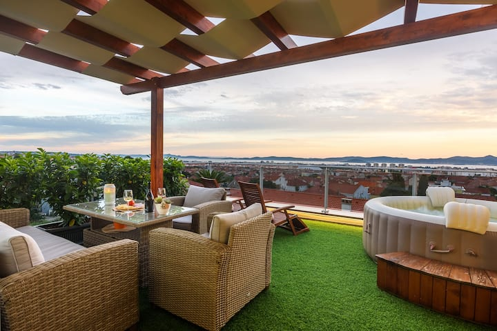 Zadar Luxury penthouse with seaview