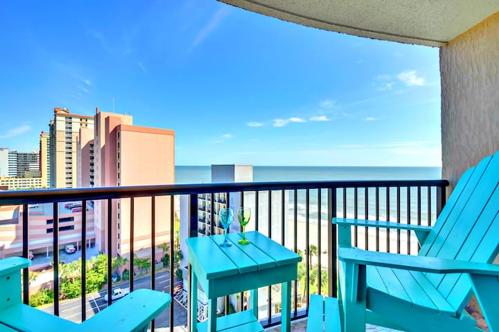 """COMPASS COVE NORTH TOWER/OCEANFRONT/END/60""""TV/"""