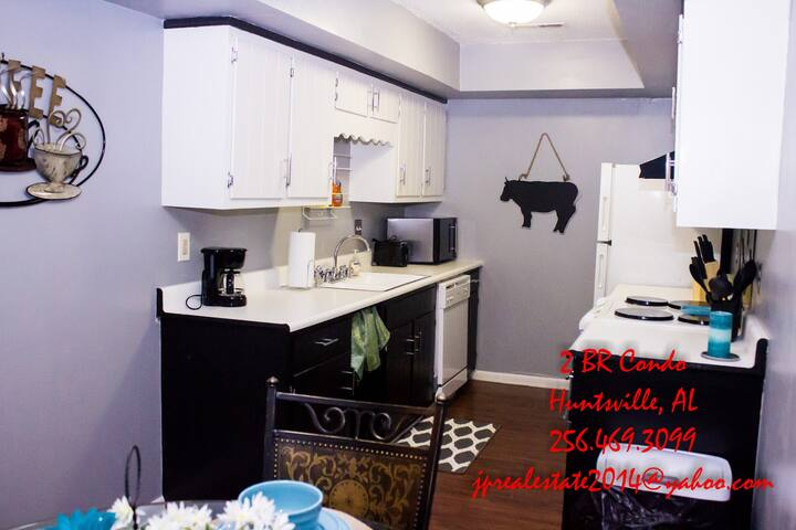 Nice 2 BR Fully Furnished Condo - Huntsville AL