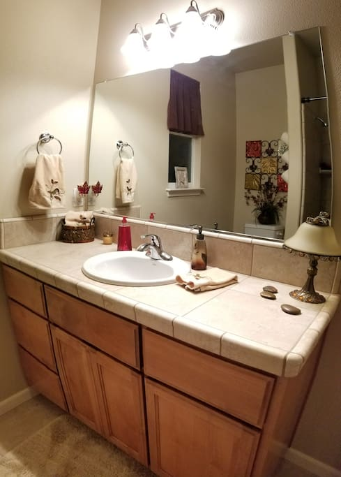 Your Sparkling Clean Private Bathroom