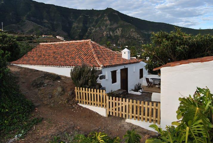 Casa Rural  en una finca de flores y  viñedos