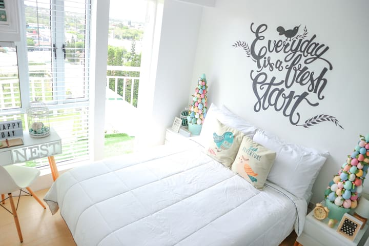Modest 1 BR Scandinavian inspired unit in Tagaytay