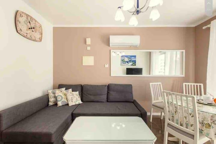 Уютная квартира рядом с морем