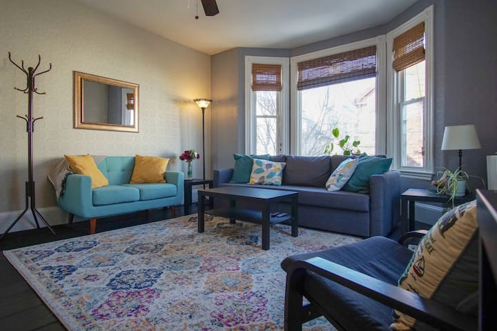 Munjoy Hill - Home away from home!