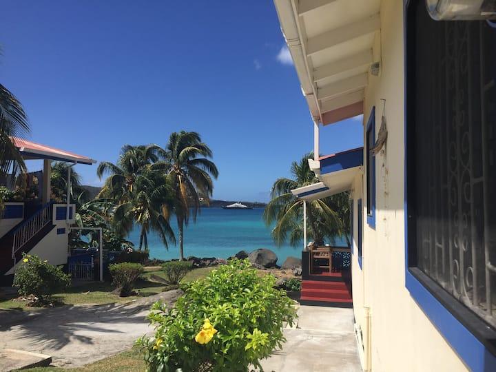 Hideaway Apts, Grenada-Waterfront Living.2BDR/AC#2