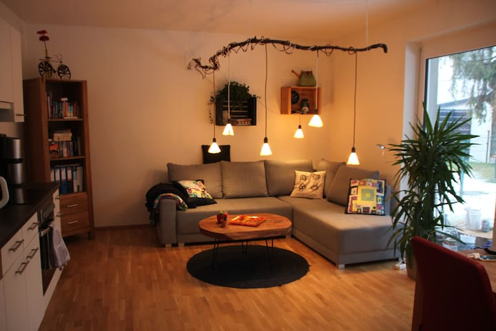 Charming appartment with own balcony and garden