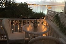 Balcony view of the Sarasota Bay just outside your door
