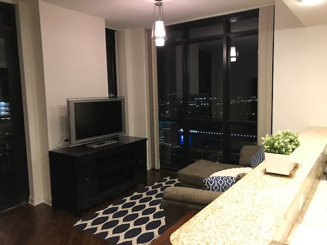 LUXURY DOWNTOWN HIGH RISE 2BEDS2BATH WALK TO AMWAY