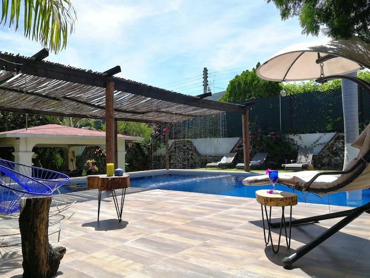 Villa Los Ciruelos, diversión y relajación