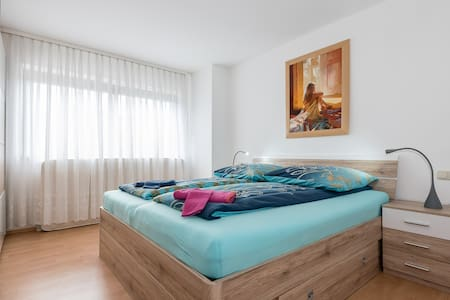 Spacious apartment for 4 persons - Neusäß - Apartmen