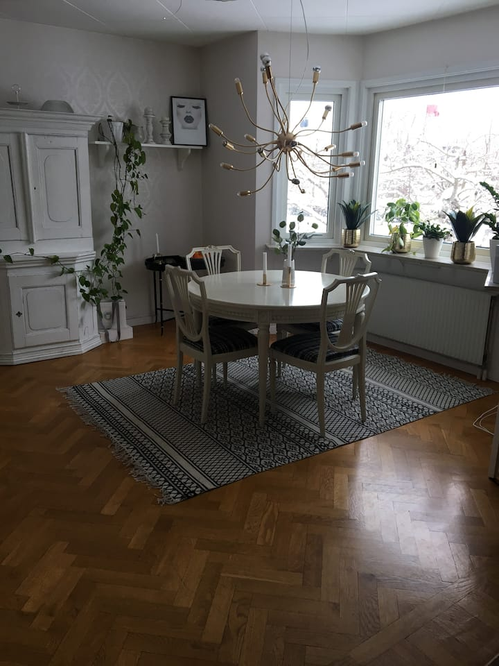 Central villa med närhet till Uppsala universitet