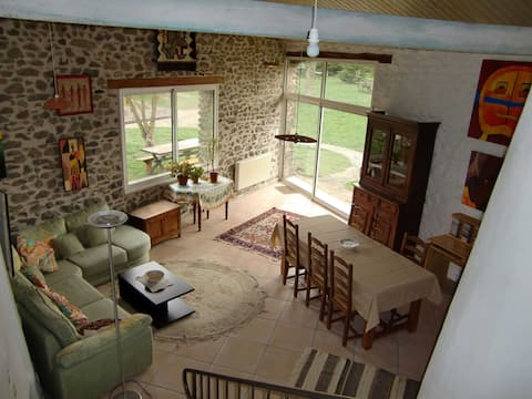 Holiday cottage for July/August in Auvergne