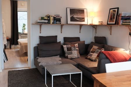 Bright and cozy 2-bed apartment - Stockholm