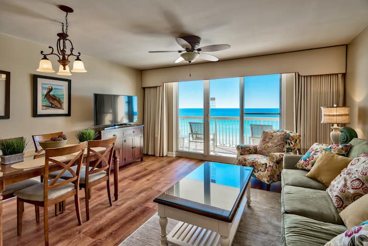 Pelican Beach, Gulf Front, Updated 7th Floor Unit,