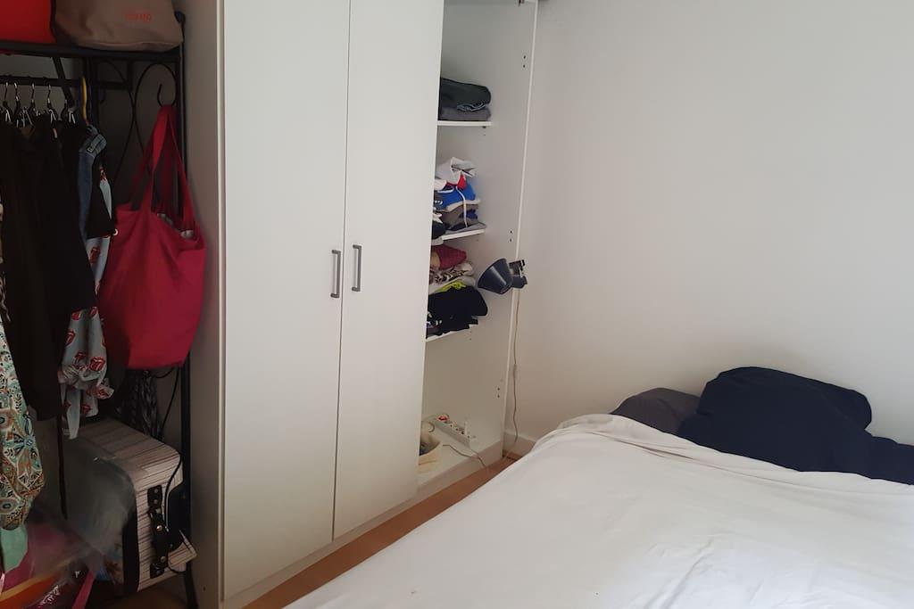 Chambre - lit double