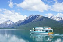 Glacier Park Boat Company offers boat tours on three lakes in the park, aboard vintage vessels.  These meticulously maintained boats have been in summer use in the park since the early 20th century.