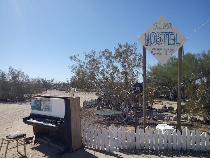 Experience the Magic of  Slab City