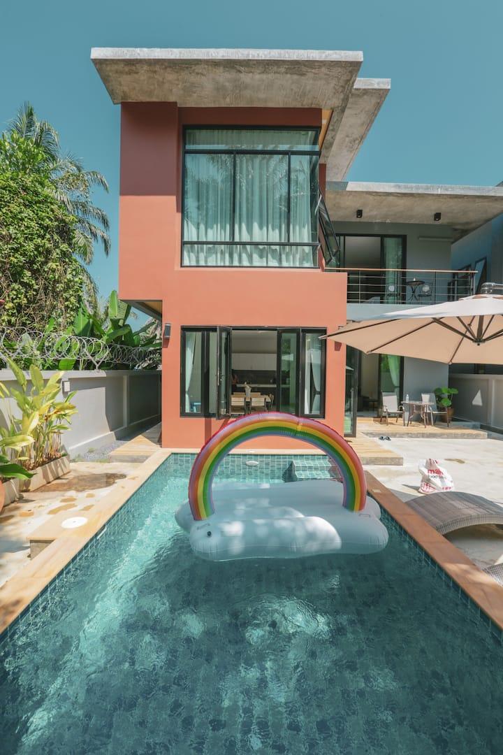 Aonang 3 bedroom private pool villa5 Superior