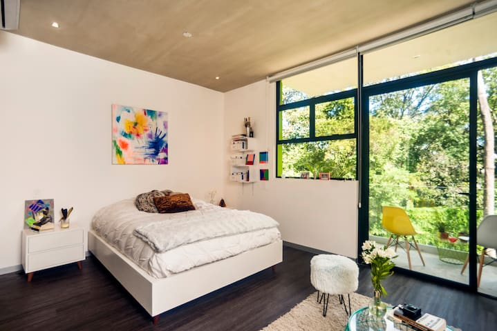 New beautiful modern Studio surrounded by nature - Santa Ana - Pis