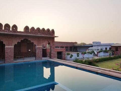 Courtyard View Suite at Pukhraj Garh