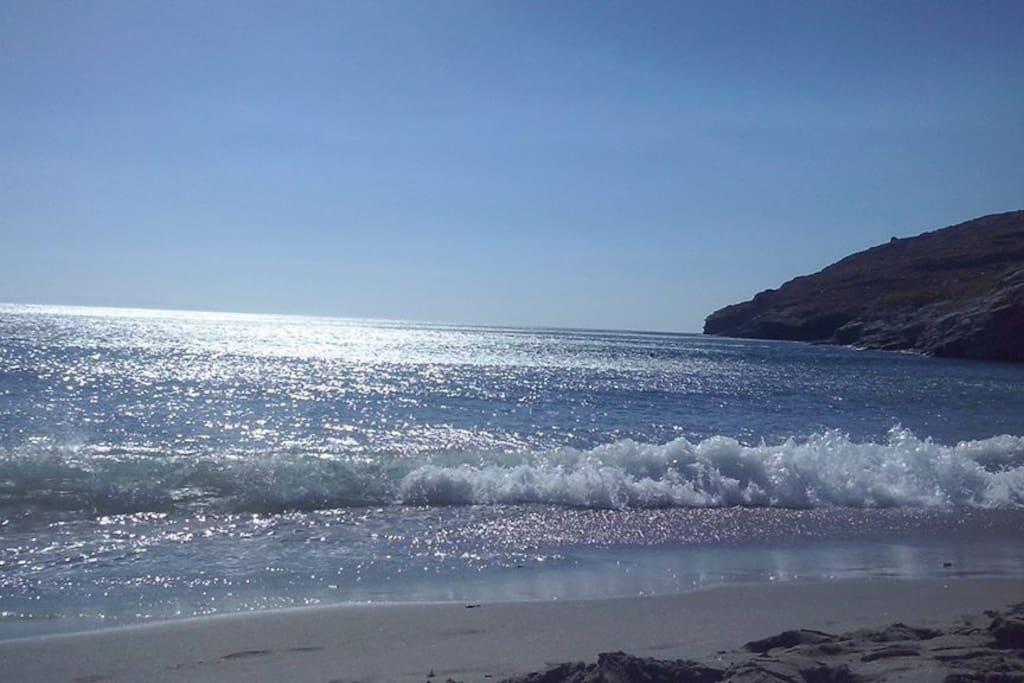 Niborio beach
