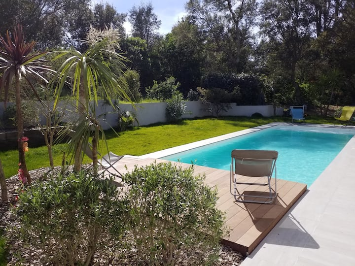 """Villa """"étoilée"""" entre Biarritz et Hossegor"""