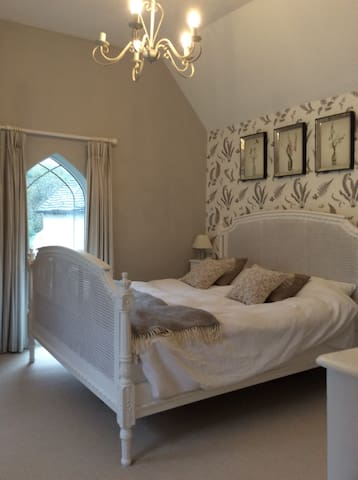 Beautiful light double bedroom