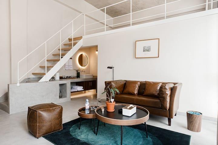 莫干山loft美学设计·山景阳台家庭套房
