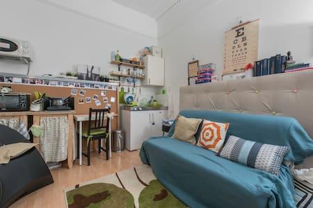 Kensington cosy double studio flat