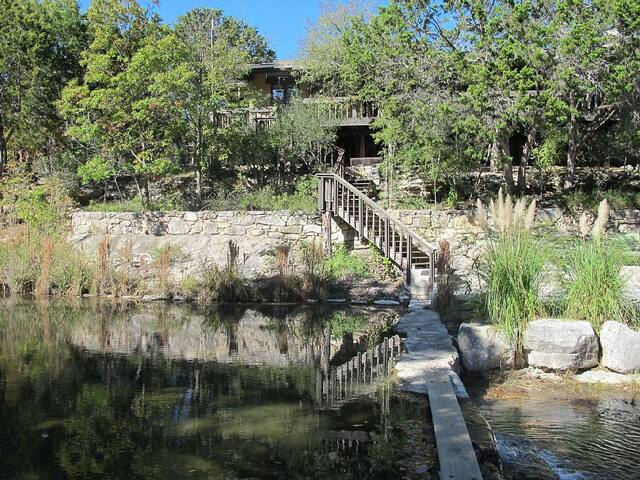 The Creek House on Riachuelo Ranch - Hunt - Haus
