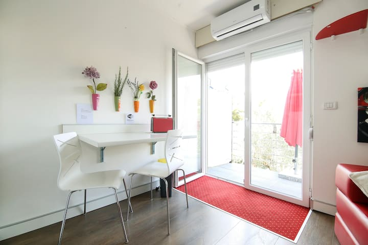 Studio apartment Trogir, 3 +1 person