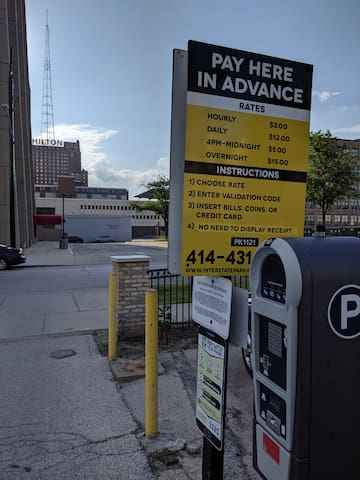 Only $15 for Overnight Parking