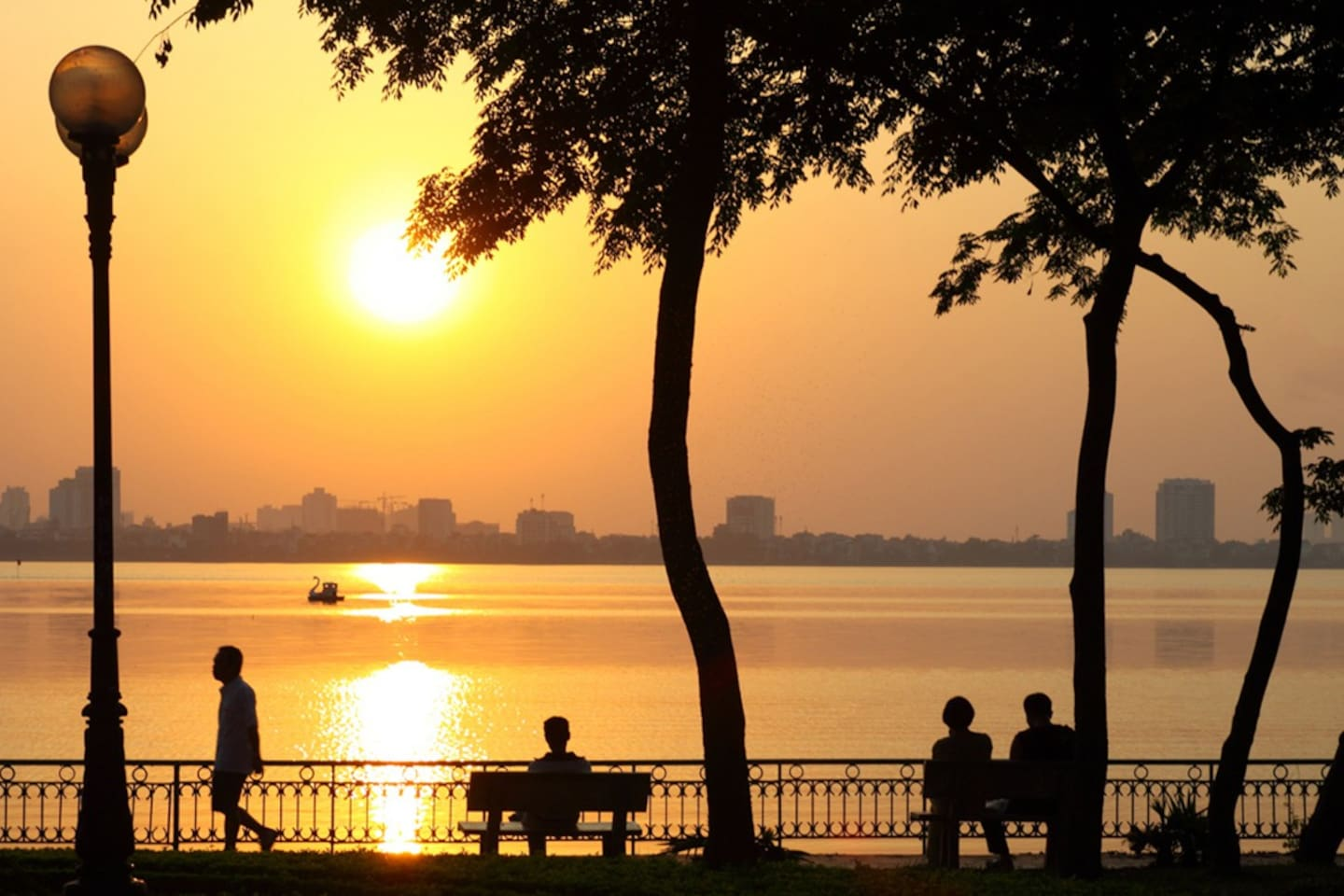 West Lake: 15 minutes from Ho CHi Minh Mausoleum