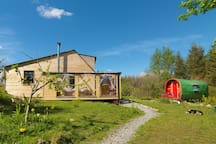 The Meadowsweet Forest Lodge, a place to retreat in nature.
