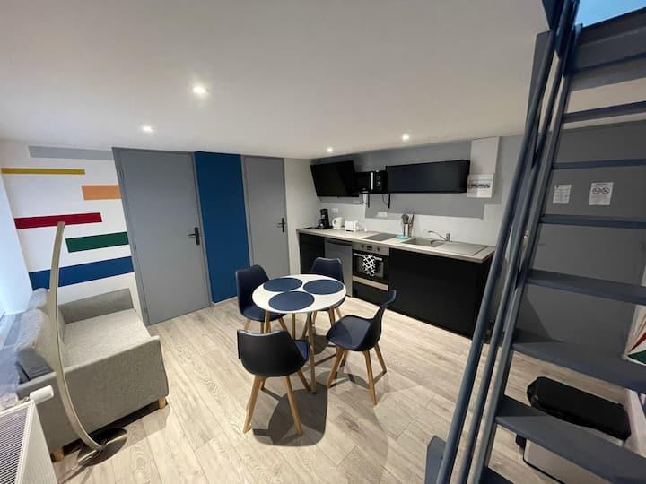 Logement Moderne à Onnaing proche Valenciennes