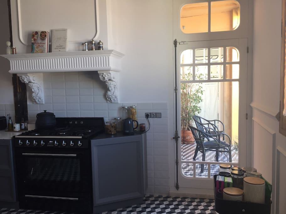 horno y cocina