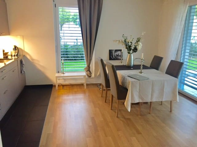 Great location near Zurich & Airport, private home
