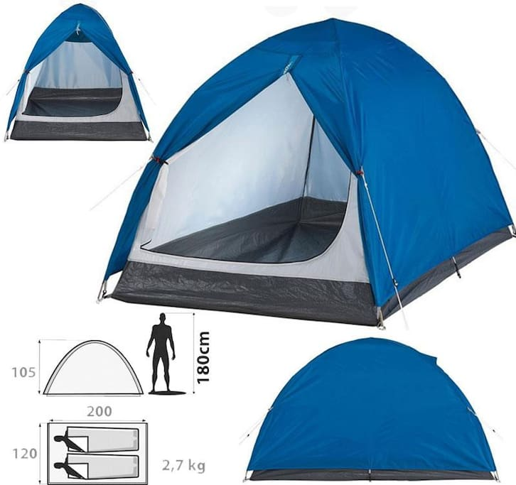 Quechua Arpenaz 2  Two person camping Tent
