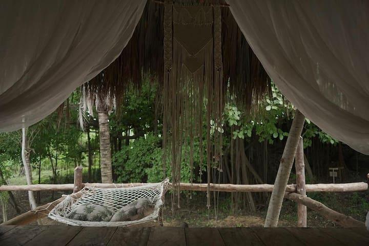 Ecohouse-Bongalow Saju