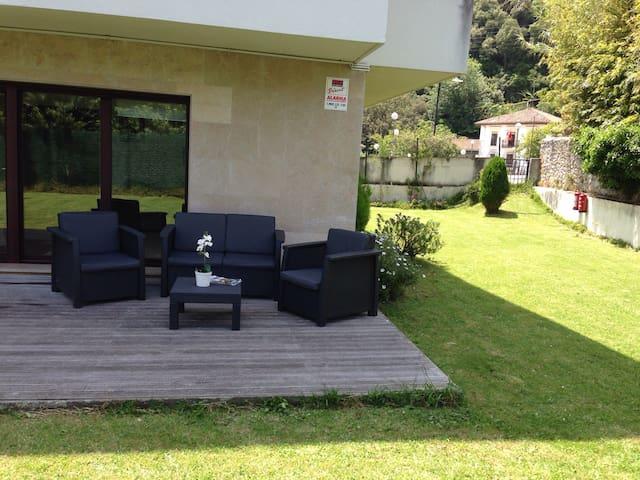 Piso con jardín privado en Urdaibai - Busturia - Flat