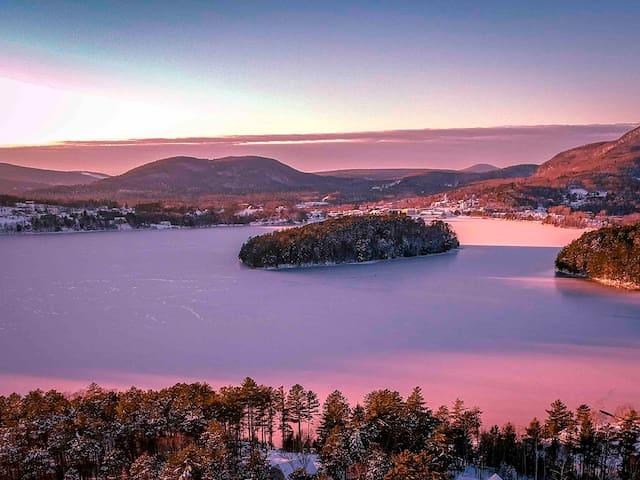 Kingdom VAST Trails Lakefront Perfection in VT